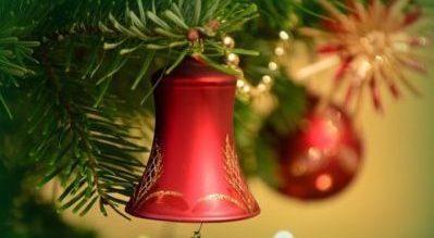 Weihnachtsmenü Tanne Glocke