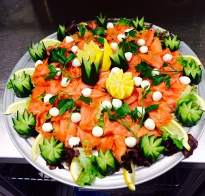 Romana Catering Partyservice BuffetFisch